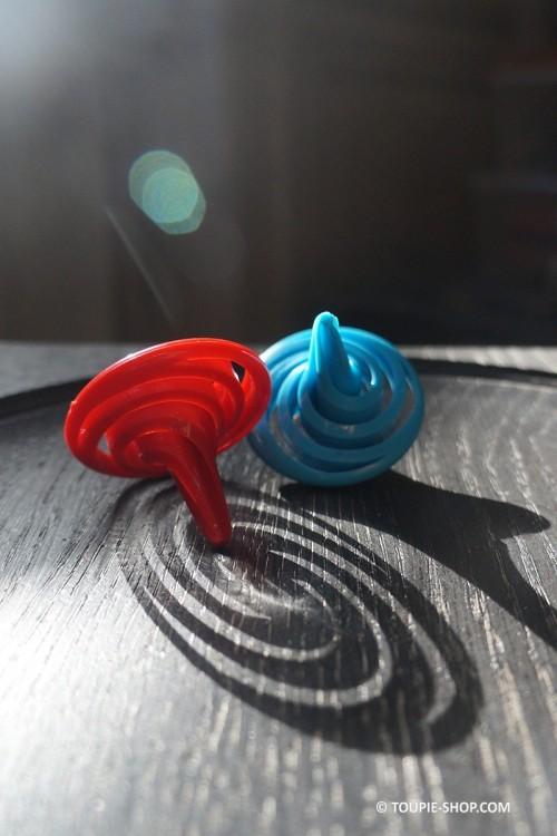 Toupie Spirale Jeux Design Moderne Jouet Enfant Toupie Shop Boutique de Toupies Magasin de Jouets