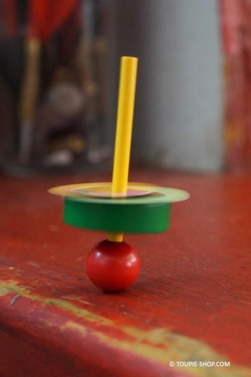 Comment Apprendre les Couleurs ? Avec la Petite Toupie Expérimentale Jeux en Bois Toupie Shop Magasin Jouet Cadeau Original