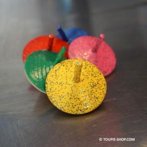Paillettes Jeux de Toupies en Bois Jouet Garçon Jeu Fille Cadeaux Enfants Toupie Shop Magasin Jouets Bois