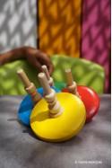 Demoiselle Toupie Jeux en Bois Pour Enfant