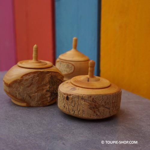 Toupies Boites a Dents Jeux en Bois de Buis Jouet Artisanal Fabrication France Toupie Shop Magasin Jouets Cadeaux Acheter Toupie