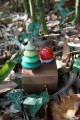 Jeux Déco Noel Original Cadeau Boite à Musique Artisanale Avec Toupies en Bois Jouet Musical Toupie Shop Magasin Jouets en ligne