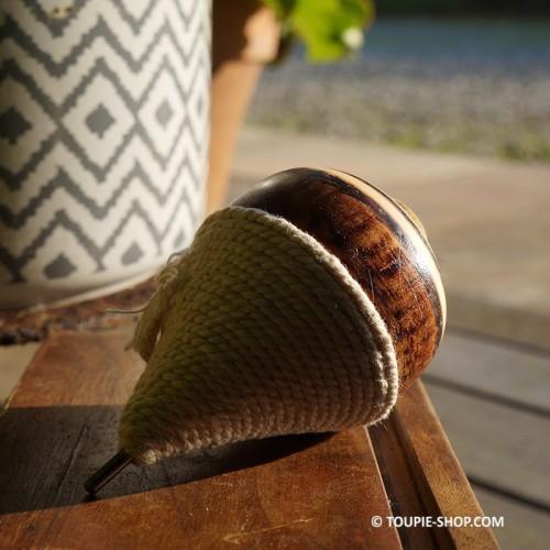 Toupie du Chili Jeux en Bois Traditionnels Jouet Artisanal Lanceur Ficelle Toupie Shop Magasin Jouets Toupies