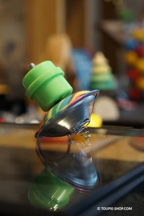 Toupie en Métal qui Saute Jouet Noël Jeux Enfants avec Lanceur Collection Toupie Shop Magasin Jouets Acheter Toupies Metal Bois
