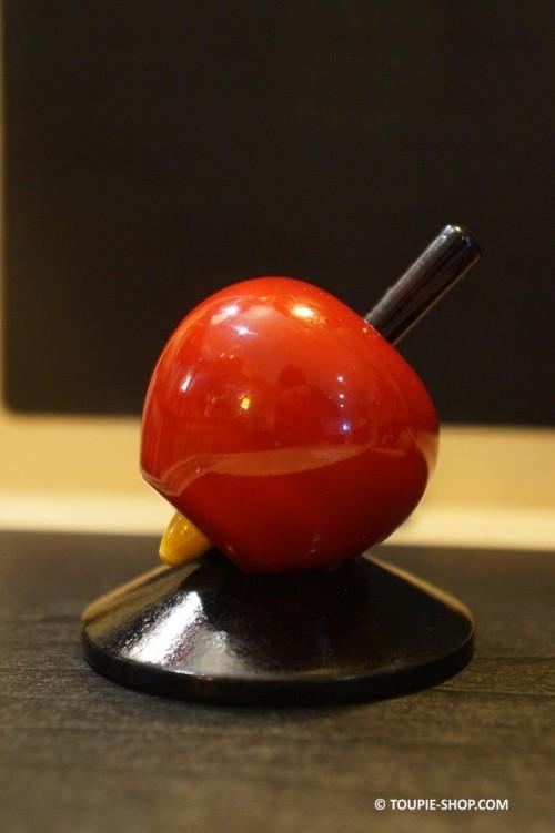Support en Bois Noir pour Collection de Toupies Accessoires Jeux Presentoir Toupie Shop Magasin Jouet Acheter Cadeau Original