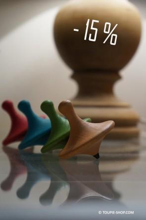 4 Saisons Jouets Toupies PROMO Jeux en Bois Design Cadeau Original Jeu Toupie Shop Magasin Achat Toupie Jouet Fabriqué Europe