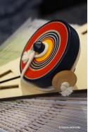 Toupie Japonaise Jeux en Bois Traditionnels avec Ficelle