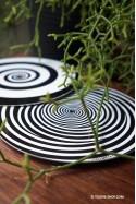Hallucination Toupie Magique Jeux en Métal illusions optiques