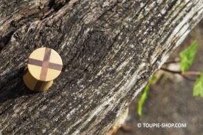 Originale Toupie Singulière Jouet Bois Design Jeux Adulte Artisanal Toupie Shop Magasin Jouets Toupies Bois Cadeaux Noel