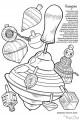 Illustrations Toupies à Colorier - Jeux Concours Dessine moi une toupie Animation Enfant Toupie Shop Magasin Jouets Bois
