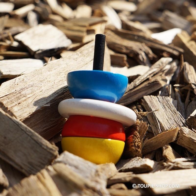 saturne jeux de toupie avec anneau jouet en bois artisanal enfant. Black Bedroom Furniture Sets. Home Design Ideas