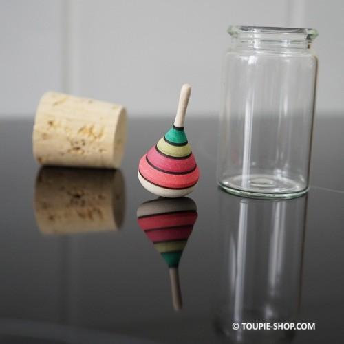 Toupie mini Arlequin - Toupie Shop (Boutique de toupie & magasin de jouets)