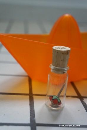 Little Star Mini Toupie Avec Fiole Verre Jouet Bois Artisanal Cadeau Adulte Jeux Toupie Shop Magasin Jouets Collection Toupies