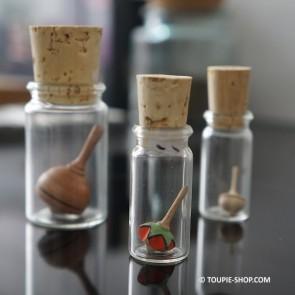 Little Star Toupie Mini Jouet en Bois Artisanal Petit Cadeau Jeux Adulte Collection Toupie Shop Magasin Jouets Fabriqué Europe