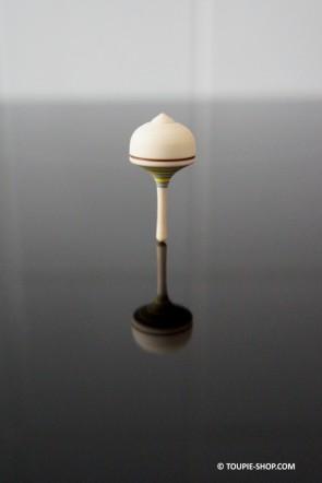 Mini Toupie Néon Petit Jeu en Bois Artisanal Jouet de Collection Toupie Shop Magasin Jouets Jeux Toupies