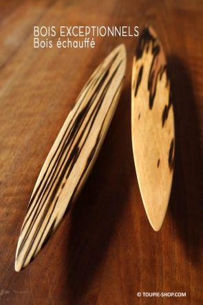 Toupie Anagyre Jeux en Bois Echauffé Artisanat Sculpteur Collection Toupie Shop Spinning Top Rattleback