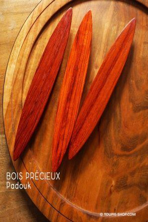 Rattleback Anagyre Toupie en Bois Exotique Padouk Jeux Sciences Artisanat Fabrique en France Collection Jouet Toupie Shop
