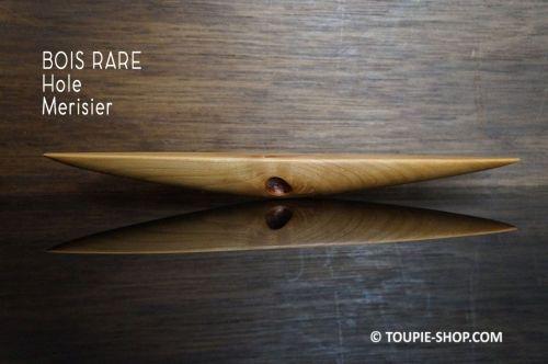 Hole Toupie Celte Piece Unique en Bois Merisier Rareté Curiosité de la Nature Jeux Toupie Shop Magasin Jouets Acheter Anagyres