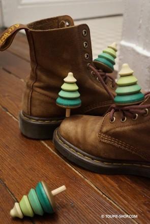 Toupie Sapin (sur socle) - toupie shop (Boutique de toupie & magasin de jouets)