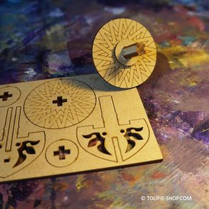 Jeux en bois à Construire Fabriquer Toupie Jouet Personnaliser Activité Toupie Shop Animation Toupies Achat Puzzle Original