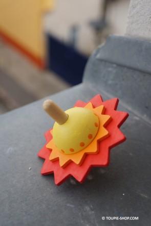 Jeux en Bois Toupie Fleur Cadeau Original pour Enfant Toupie Shop (Boutique de Toupies & Magasin de Jouets)